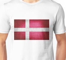 Flag of Denmark Unisex T-Shirt