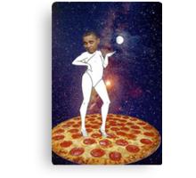 Pizza for Prez Canvas Print