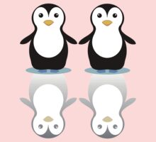 PENGUIN PAIR ON ICE Baby Tee