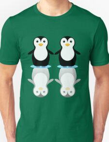 PENGUIN PAIR ON ICE T-Shirt