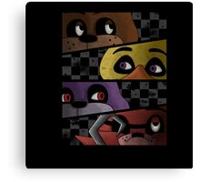Freddy and friends are ready! Canvas Print