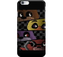 Freddy and friends are ready! iPhone Case/Skin