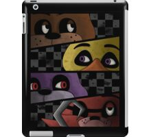 Freddy and friends are ready! iPad Case/Skin