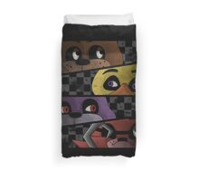 Freddy and friends are ready! Duvet Cover