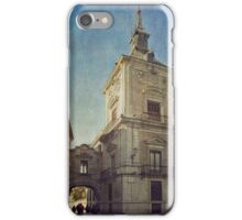 La Plaza de la Villa iPhone Case/Skin