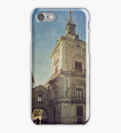 La Plaza de la Villa iPhone Case/Skin