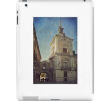 La Plaza de la Villa iPad Case/Skin