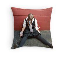 Puppet Six Throw Pillow