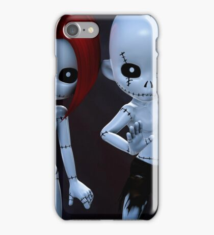 Rag Dolls Couple iPhone Case/Skin