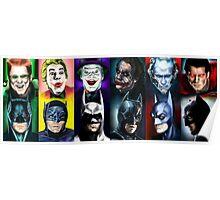 Batman 1966 - 2016 Poster