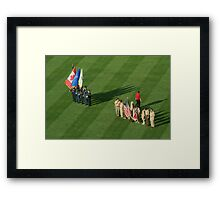 I Pledge Allegiance.............. Framed Print