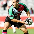 Harlequins Scrum Half Danny Care by Mark Greenwood