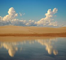 White Sands, Alamogordo, New Mexico by Simon Mears
