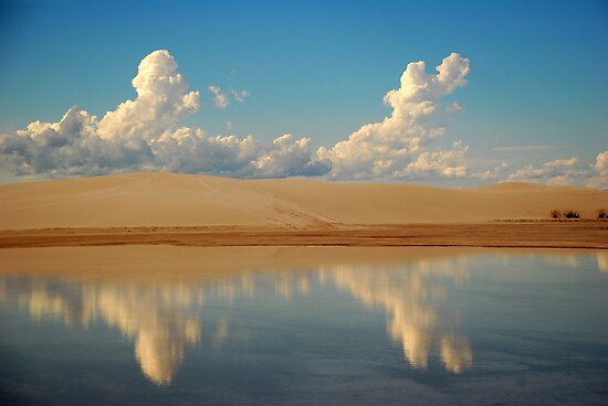 White Sands, Alamogordo, New Mexico by Simon Mears