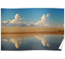 White Sands, Alamogordo, New Mexico Poster