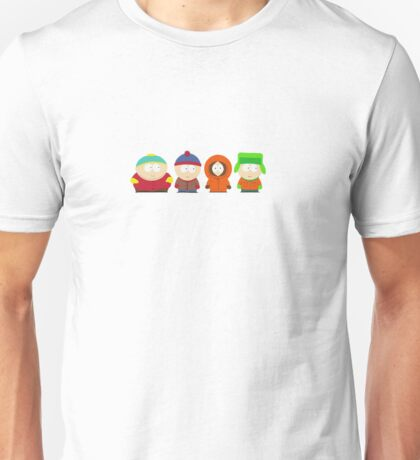 South Park Bus Stop Crew Unisex T-Shirt