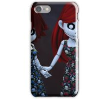 Gothic Rag Dolls iPhone Case/Skin