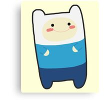 ADVENTURE TIME: Finn the Cutie Canvas Print