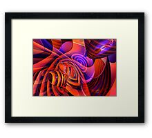 Amore Abstract Framed Print