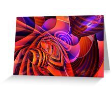 Amore Abstract Greeting Card