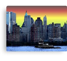 hudson river Canvas Print