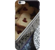 day 34: heart cookies iPhone Case/Skin