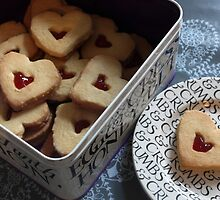 day 34: heart cookies by Lexx