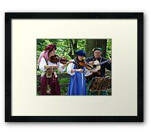 Renaissance Musicians Framed Print