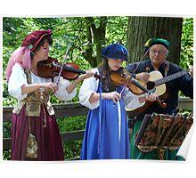 Renaissance Musicians Poster