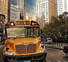 school bus by andalaimaging