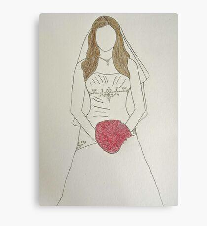 Wedding Dress No 7 Canvas Print