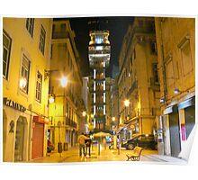 Sta. Justa.Lisbon Poster