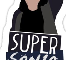 Super Sonic Punch - Cisco Sticker