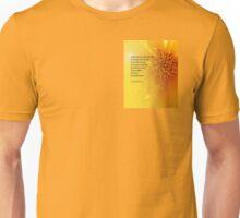 Serenity Prayer Coreopsis Unisex T-Shirt