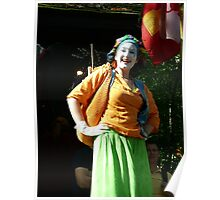 Mime on Stilts Poster