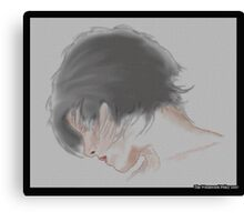 Face -side view Canvas Print