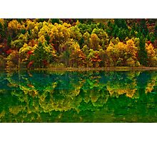 Autumn in Jiuzhaigou Photographic Print