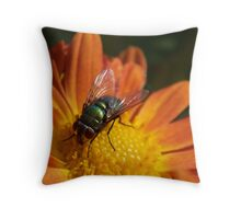 Autumn Fly@ Throw Pillow