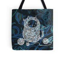 Yarn Cat- Teal Tote Bag