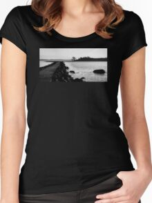 The Long Walk Women's Fitted Scoop T-Shirt