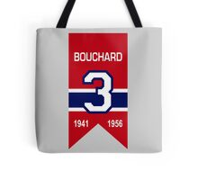 "Emile ""Butch"" Bouchard - retired jersey #3 Tote Bag"