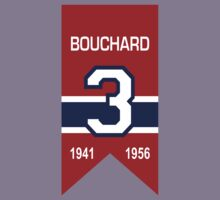 """Emile """"Butch"""" Bouchard - retired jersey #3 Kids Clothes"""