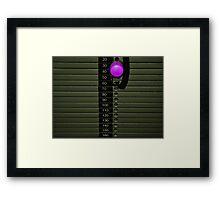 Light Weight Framed Print