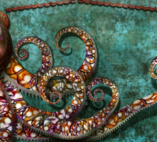 Steampunk - The tale of the Kraken Sticker