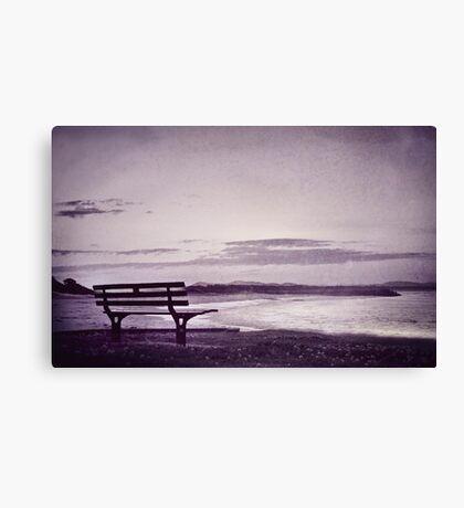 even when you're gone Canvas Print