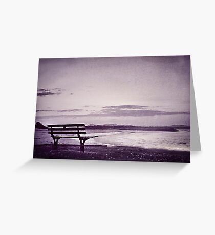 even when you're gone Greeting Card