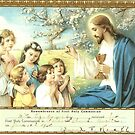 1938 1st Holy Communion certificate by Woodie