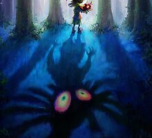 The Legend of Zelda Majora's Mask 3D Artwork #1 by estatheesploso