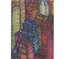 city from the empire state Photographic Print