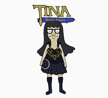 Tina Warrior Princess Womens Fitted T-Shirt